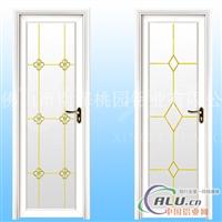门窗铝材M52隔热平开门铝型材