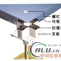 波鼎鋁合金活動地板自貢OA智能化樓宇架空地板