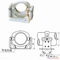 MGGH100 管母线滑动支撑固定金具