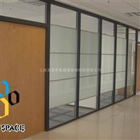 上海麦思卑斯单层玻璃成品隔断办公写字楼成品隔断