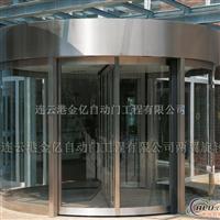 两翼旋转门工程案例两翼自动旋转门制造商CAD施工图报价