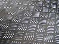 山东铝板压花,五条筋花纹铝板
