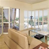 百叶窗、实木百叶窗、木制百叶窗、欧式百叶窗、椴木百叶窗 移门