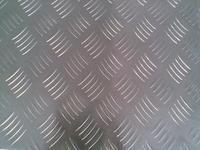 五条筋防滑花纹铝板