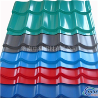 彩色涂层铝瓦市场价格铝瓦型号