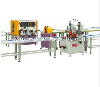 hot insulation aluminium profile machine