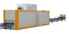 wood grain vacuum transfer machine for aluminum profile