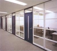 铝合金隔断 玻璃隔断铝型材批发