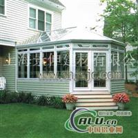 铝合金阳光房专业制作玻璃房