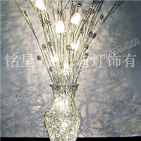 铭星灯具 水晶灯 蜡烛灯 铝丝灯