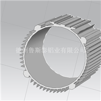 拉伸铝合金电机外壳