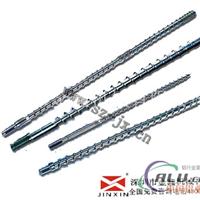 成型机双合金机筒螺杆 铝材挤出机螺杆机筒 金鑫最佳选择