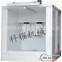 粉末喷涂生产线,单工位喷粉室