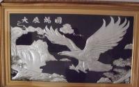 广东伺服铝板浮雕机13652653169