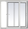 Powder Coated Aluminum Alloy Sliding Window
