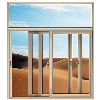 Electrophoretic Aluminium Sliding Window