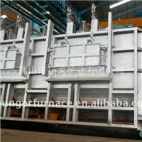 天然气节能蓄热式熔铝炉