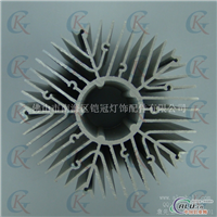 开模定做量产拉伸铝型材散热器