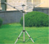 LYQ204- 3 arms aluminum rotary airer with tripod stand