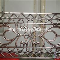 供应铝合金雕刻楼梯护栏