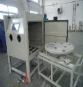 小型汽车配件喷砂机清理机