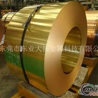 高质量C67800耐磨黄铜带性能介绍