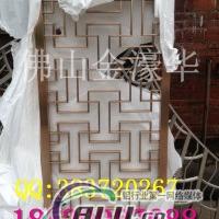 玫瑰金鋁板雕刻鏤空屏風生產廠家