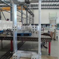 电力设备专用铝框架加工