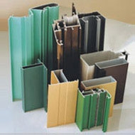 生产各种品牌铝门窗慕墙铝型材