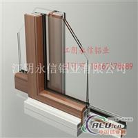 供应LM86铝木复合门窗铝型材
