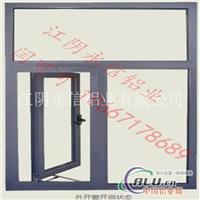 供应外开系列隔热断桥门窗铝型材