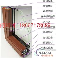 LM72铝木复合隔热断桥门窗型材