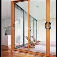 钢化玻璃铝合金推拉窗