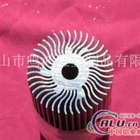 太阳花散热器来图或来样加工生产