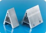 工业铝型材配件 45度铝角架 批发工业铝型材