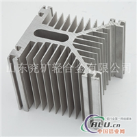 供应优质铝合金电子型材 散热器4