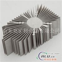 供应优质铝合金电子型材 散热器2