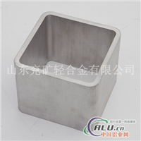 供应优质铝合金挤压方管
