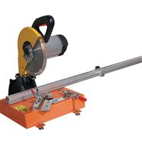 供应晶钢门铝材专用铝材切角机