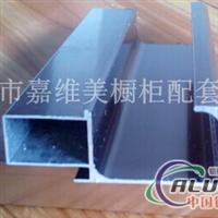 供应F款隐框晶钢门铝材