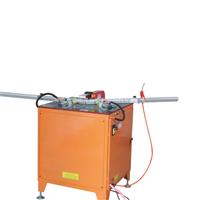 供应高速精密型晶钢门铝材切角机