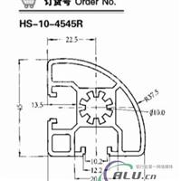 4545R工业铝型材
