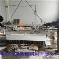 生產中的大塊鋁合金犧牲陽極