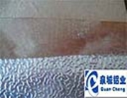 压花铝板 橘皮铝板 带防潮层铝板