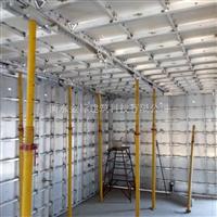 铝模板代替木模板亮相建筑施工