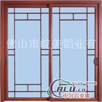 铝合金门窗型材规格