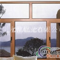 ZP55注胶式隔热断桥平开窗铝型材