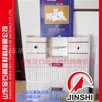 立式镀锌线保温材料全纤维耐火棉安装