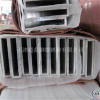 供应6063铝方管6060铝型材