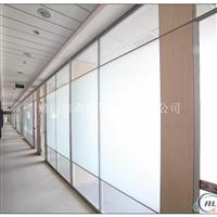 磨砂单层玻璃隔墙